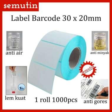 harga Kertas Thermal Label Barcode 30 x 20 mm 1000pcs - Sticker Termal Printer Blibli.com