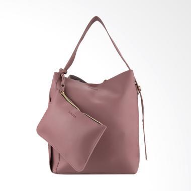 Bellezza 61604-01 Hand Bags Tas Wanita - Navy Pink