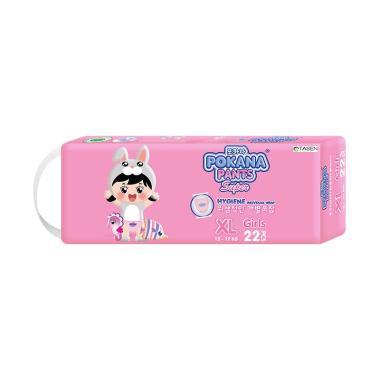 Pokana Pants Super Girl Popok Bayi [Size XL/ 22 pcs]