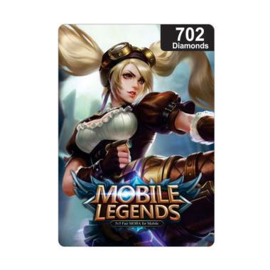 Diamond Mobile Legends 702 Voucher Game