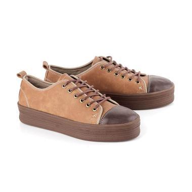 Kuzatura KTE 552 Sepatu Sneakers Wanita - Coklat