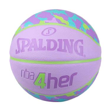 official photos 17916 14dc4 Spalding 2016 NBA 4Her Cheetah Rubber Bola Basket