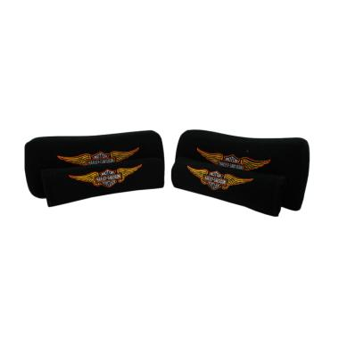 harga Sukses Motor Harley Davidson 2in1 Set Aksesoris Interior Mobil [Bantal Mobil/ Sarung Seat Belt] Black Blibli.com