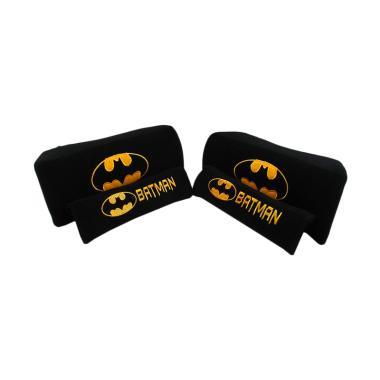 harga Sukses Motor Batman 2in1 Set Aksesoris Interior Mobil [Bantal Mobil/ Sarung Seat Belt] Black Blibli.com