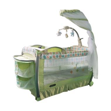 BabyElle 9D89XLR Baby Box Tempat Tidur Bayi - Green
