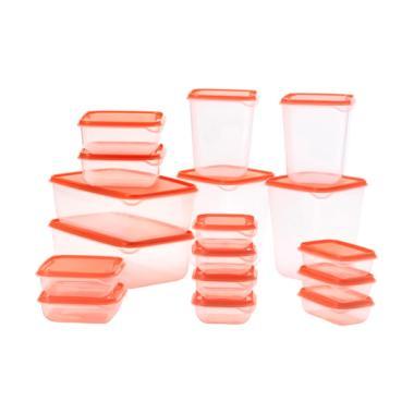 Ikea Pruta Set Kotak Makan - Orange