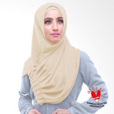 Milyarda Hijab Alya - Cream