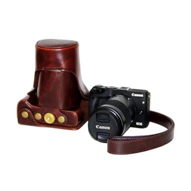 OEM Full Case for Canon EOS M3 - Coffee