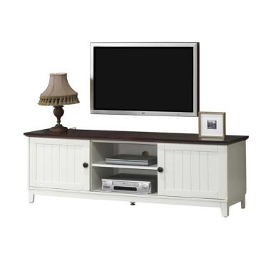 The Olive House 1500 TV Cabinet - Mahogany