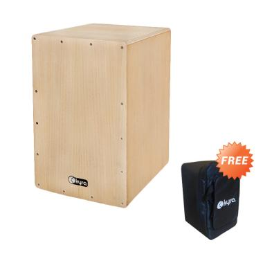Kyre Cajon - Natural + Free Case