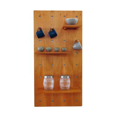 KIF Furniture Akiko Shelf KIFF-AKO-SLF Rak - Natural