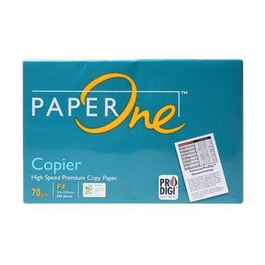 Paper One Kertas Fotokopi HVS F4 [70 gsm]