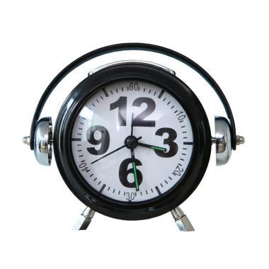 The Olive House EG7007B Clock Weeker - Black