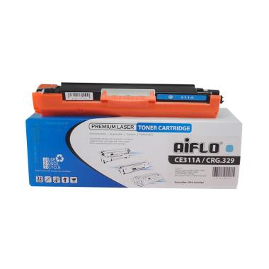 Aiflo CE311A/CRG329 Toner Compatible Cartridge for Printer HP - Cyan