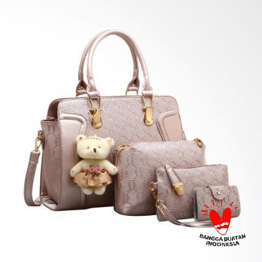 IMF Bg255 Tas Import Tas Wanita - Gold