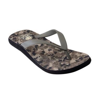 Megumi Army Sandal Pria - Khaky