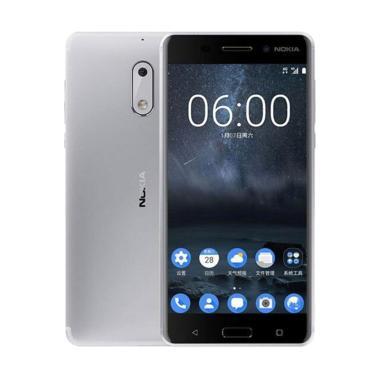 Nokia 6 Smartphone - Silver [64GB/ 4GB]