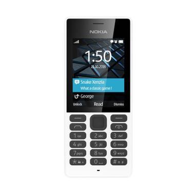 Jual Nokia 150 Handphone - Putih [Dual Sim] Harga Rp 499999. Beli Sekarang dan Dapatkan Diskonnya.
