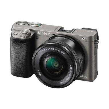 Sony Alpha A6000L Kit Lens 16-50mm+ ...  Kamera Mirrorless - Grey