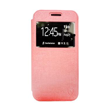 Zagbox Flip Cover Casing for Vivo Y35 - Pink