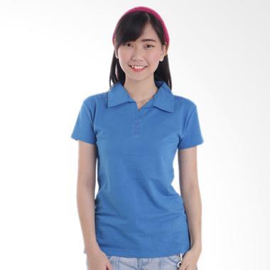 Adore Kaos Polo Wanita - Ocean Blue