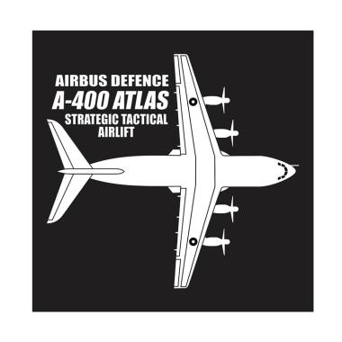 Kyle Airbus A-400 Atlas Cutting Sticker