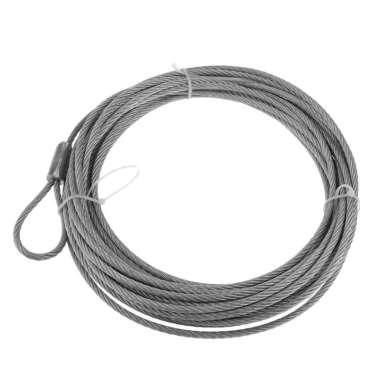 harga Steel Wire Winch Cable Rope Replacement for ATV UTV 12.2m X 4.9 mm Silver Blibli.com