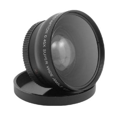 Kelda-Converter lensa wide angle & macro 0.45x 58mm