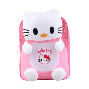 Catenzo Junior CJR Hello Kitty Backpack Anak - Pink