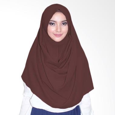 Milyarda Hijab Emily Hijab instan - Coklat