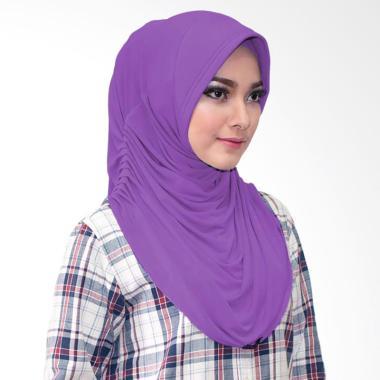 Milyarda Hijab Rumina Jilbab Instan - Ungu