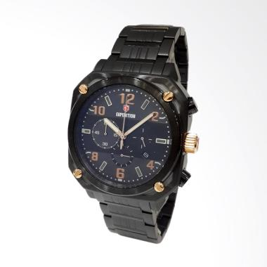 Expedition Jam Tangan Pria - Black 6738MCBBRBA