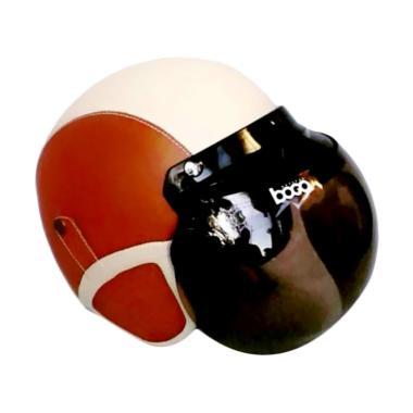 JBX Helmet Retro Klasik Kulit Kaca Bogo Original ...
