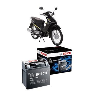 Bosch AGM RBT6A Aki Kering Motor for Suzuki Smash