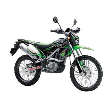 Kawasaki KLX 150 BF Sepeda Motor - Green [OTR Jadetabekser]