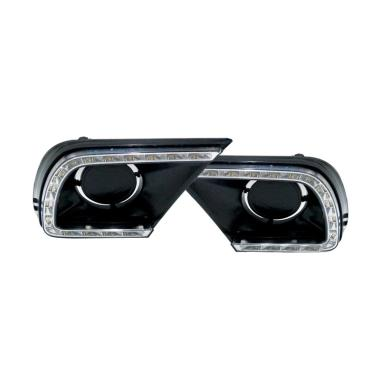 Autovision DRL Rumah Lampu Fog Lamp for Toyota Innova 2014 [12V 6000K]