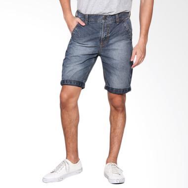 EMBA JEANS Bronshon Short Pants Celana Pendek Pria - Heavy Stone