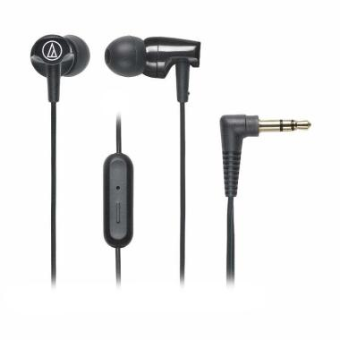 Audio Technica ATH-CLR100IS Headset - Black