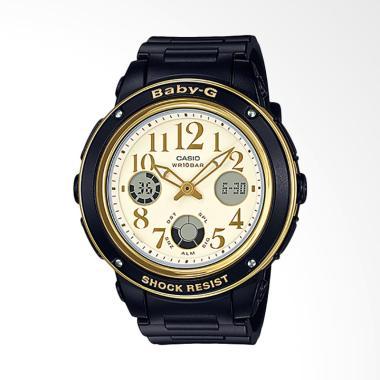 Casio Baby-G BGA-151EF-1BDR Water R ... angan Wanita - Black Gold