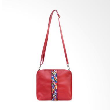Hers Bags H1303 Tussy Sling Bag Tas Wanita - Red