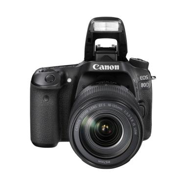 Canon EOS 80D Kamera DSLR with 18-55mm