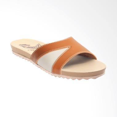 Yutaka ICB-02 Santai Cantik Sandal Wanita - Tan Krem