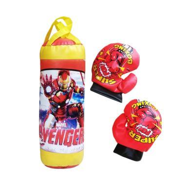 TDT 0960670002 Boxing Iron Man Mainan Anak