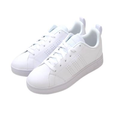 Adidas Neo Advantage Clean Mono White Sneakers Shoes - Putih [B7468]
