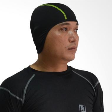 Roduta Inner Cap Pelindung Kepala - Black List Green