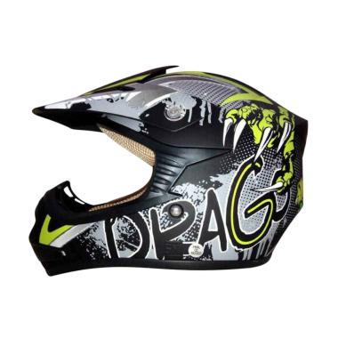 harga Snail MX306 Drago Helm Cross Anak Junior Motocross Blibli.com