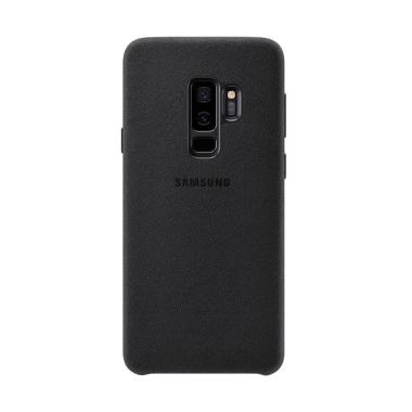 Samsung Alcantara Casing for Samsun ... s G965 - Hitam [Original]