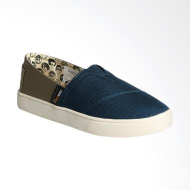 Wakai WKI-SLW11715- CORDURACHUO Sepatu Wanita - Navy Olive
