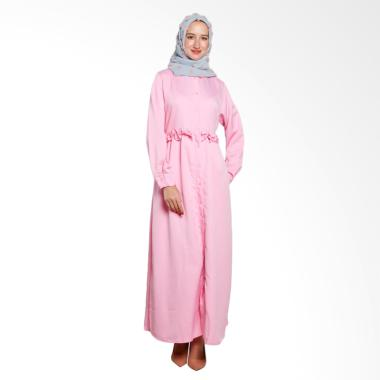 Covering Story Ardya Dress I Long Dress - Baby Pink