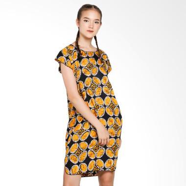Batik Alhadi BPT002-57A Midi Dress Baju Tidur Daster